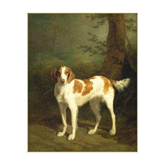Dog painting 10 stretched canvas prints
