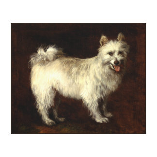 Dog painting 1 gallery wrapped canvas
