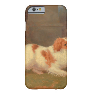 dog painting Blenheim spaniel Barely There iPhone 6 Case