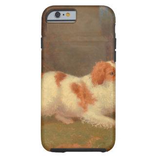 dog painting Blenheim spaniel Tough iPhone 6 Case