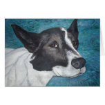dog painting cards