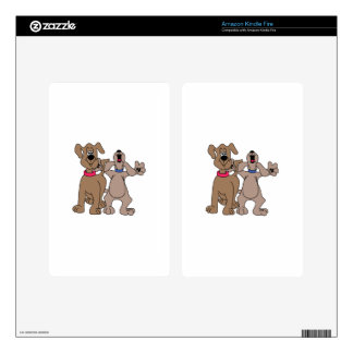 Dog Pals Decals For Kindle Fire