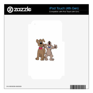 Dog Pals Skins For iPod Touch 4G