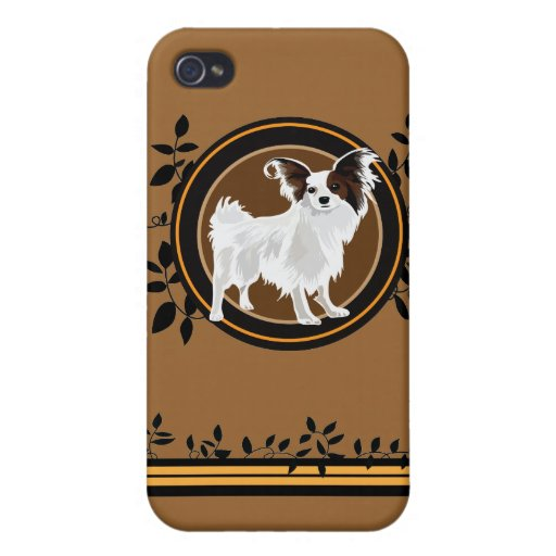 Dog Papillon iPhone 4/4S Cover