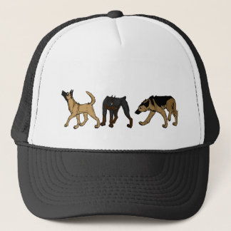 Dog Parade Trucker Hat