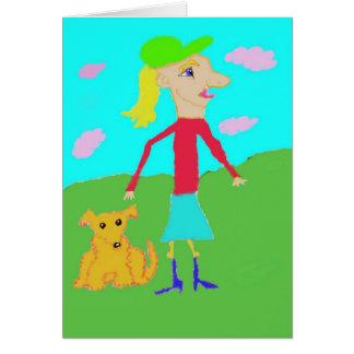 Dog Park Card