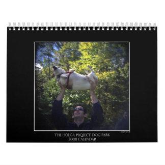 Dog Park Color Calendar 2