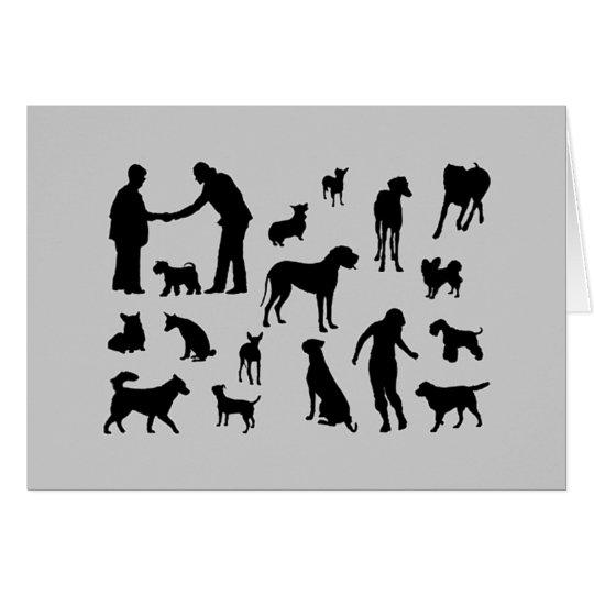 Dog Partners Sympathy Card