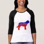 Dog Party raglan T-Shirt