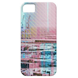 Dog patching Panorama in San francisco city iPhone SE/5/5s Case