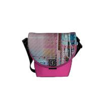 artsprojekt, Rickshaw messenger bag com design gráfico personalizado