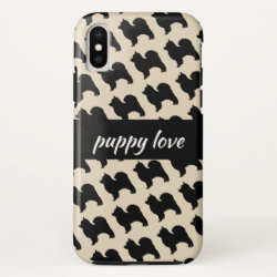 Case-Mate Barely There iPhone X Case with Chow Chow Phone Cases design