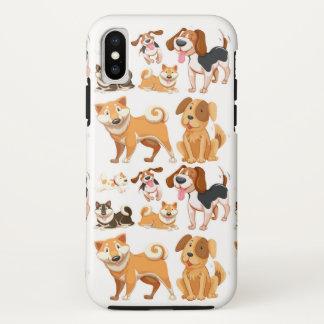Dog Pattern iPhone X Case