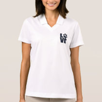 Dog Paw Mark Love Polo Shirt