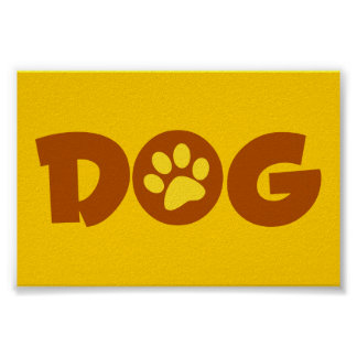 DOG PAW PRINT BROWNS YELLOWS CAUSES ANIMALS PETS