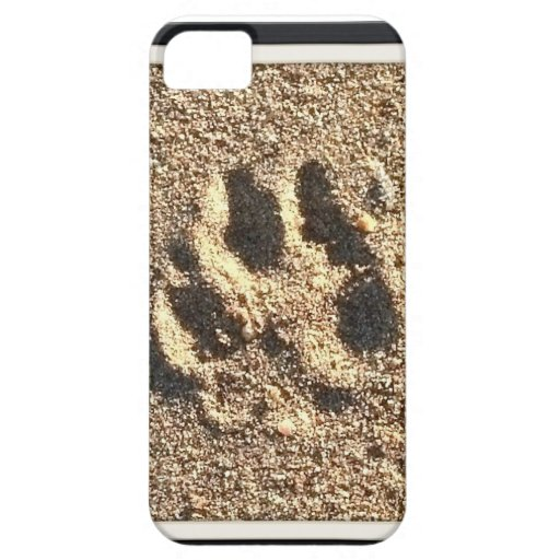 Dog Paw Print iPhone Case iPhone 5 Cases