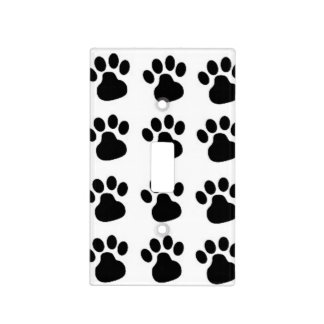 Dog Paw Print Light Switch Cover Per Lovers