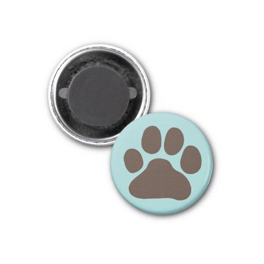 Dog Paw Print Magnet
