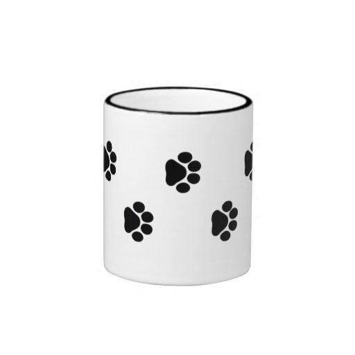 Dog Paw Print Mug 15 oz