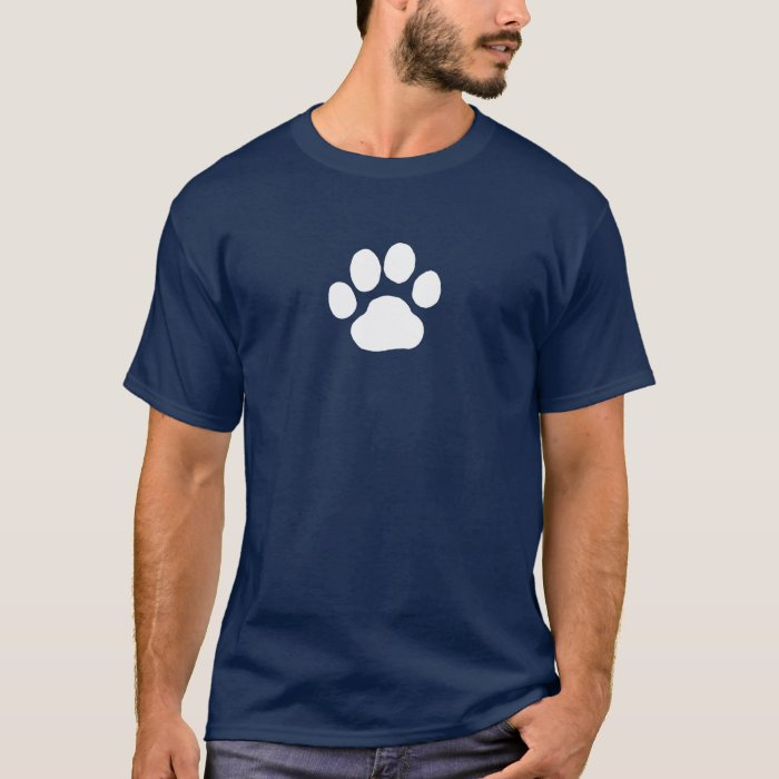 Dog Paw Print T-Shirt