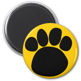 Dog Paw Print to the Paw Magnet