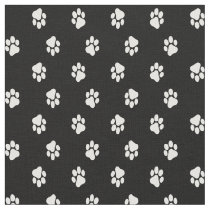 Dog Paw Prints Fabric, Cat Paw Prints, Pet Fabric
