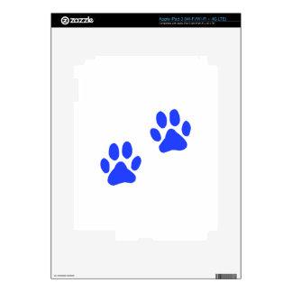 Dog Paw Prints iPad 3 Decals