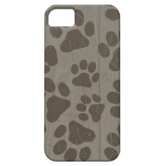Dog Paw Prints iPhone SE/5/5s Case