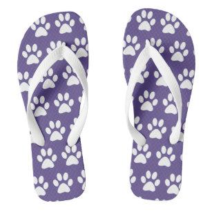 5e81df27f8d76 Dog Paw Print Sandals   Flip Flops