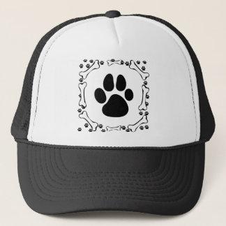 Dog Paws and Dog Bones Dog Walker Hat