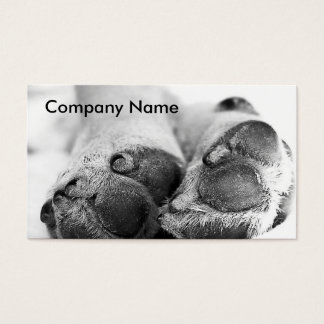 Dog Paws Business Card