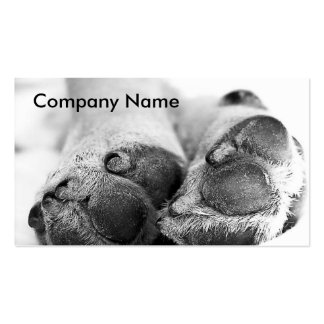 Dog Paws Business Cards