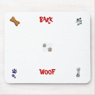 DOG PAWS, dog toy, DOG BONE, dog bones, dog paw... Mousepad