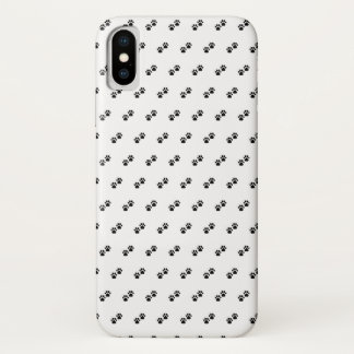 Dog Paws on White iPhone X Case