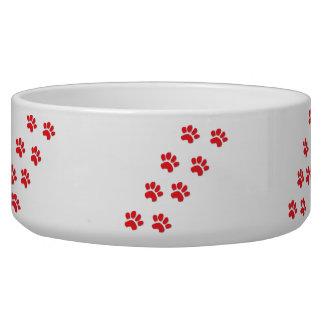 Dog Paws Pet Food Bowls
