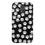 Dog Paws, Traces, Paw-prints - White Black Galaxy S5 Covers