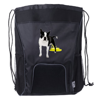 Dog Pee Backpack (black)