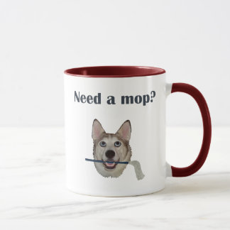 Dog Pee Humor Need Mop Mug