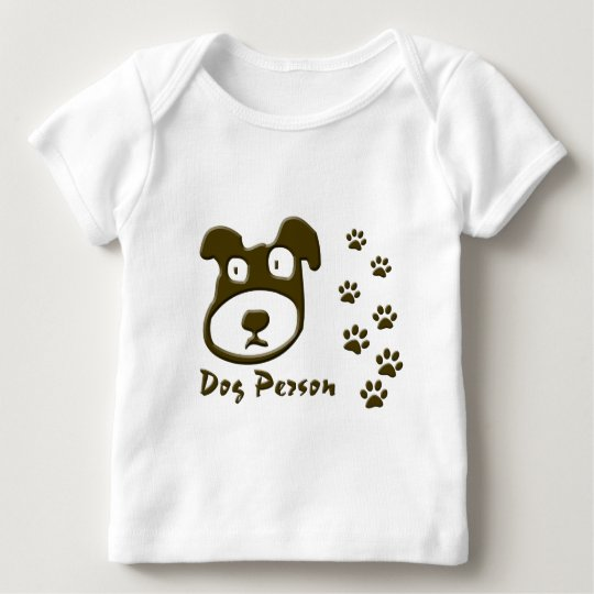 dog person baby T-Shirt