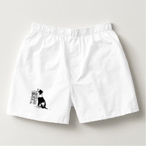 Dog person boxers