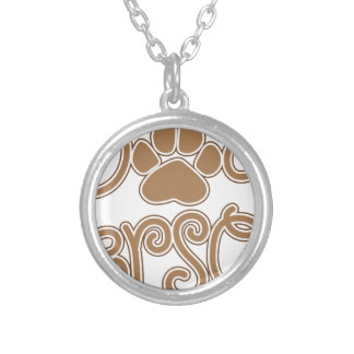 Dog Person Silver Plated Necklace