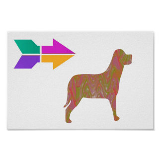 DOG Pet Animal WISDOM Lowprice RELATE 2WORDS Poster