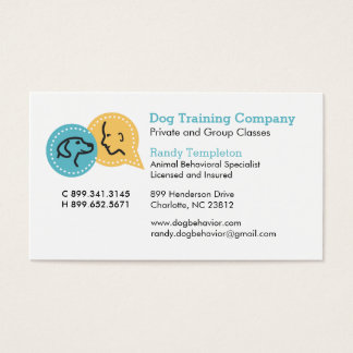 Dog Pet Business Cards (Pack of 100)