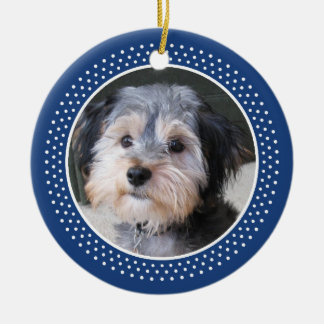 Dog Pet Photo Frame - double sided Christmas Ornaments