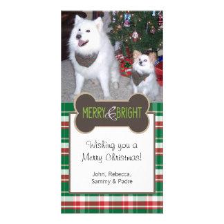 Dog Photo Christmas Greeting Card