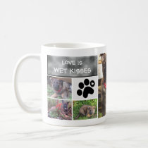 Dog Photo Collage Mug