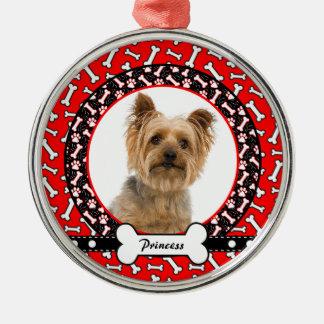 Dog Photo Portrait Christmas Ornament Template