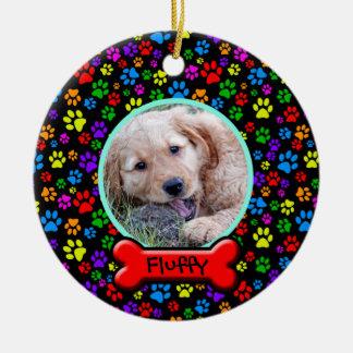 Dog Photo Template Ornament