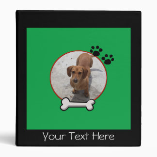 Dog Picture Frame  Binder