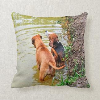 Dog Pillows.  Best Friends Pillow